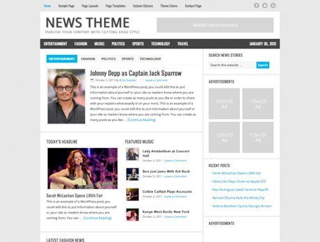 News ~ Genesis Prémium WordPress sablon