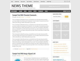 News narancs ~ Genesis Prémium WordPress sablon