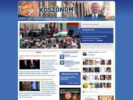 Tarlós István ~ Prémium WordPress honlap