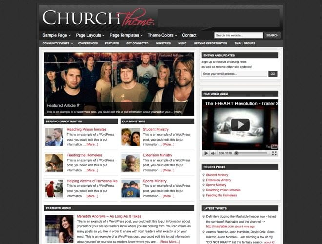 Church ~ Genesis WordPress sablon