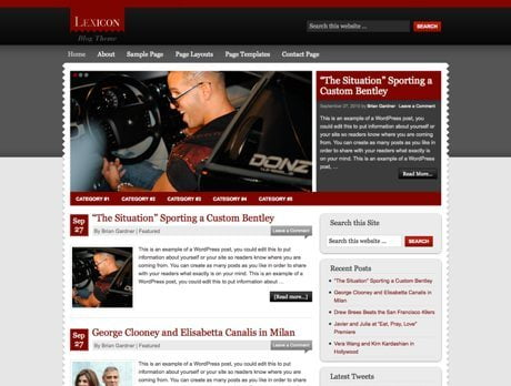 Lexicon ~ Genesis WordPress sablon