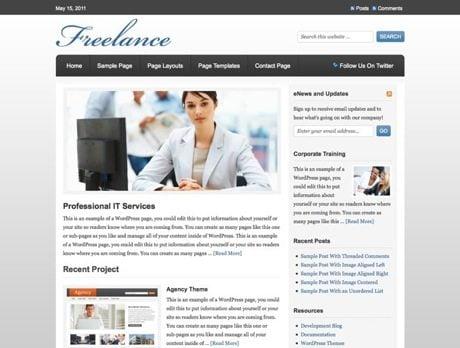 Freelance ~ Genesis WordPress sablon