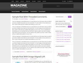 Magazine lila ~ Genesis WordPress sablon