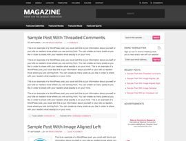 Magazine pink ~ Genesis WordPress sablon