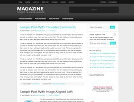 Magazine teal ~ Genesis WordPress sablon