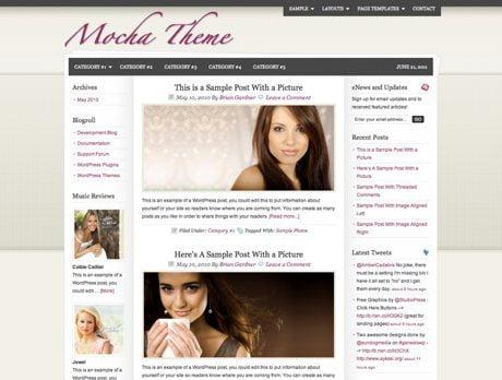Mocha ~ Genesis WordPress sablon