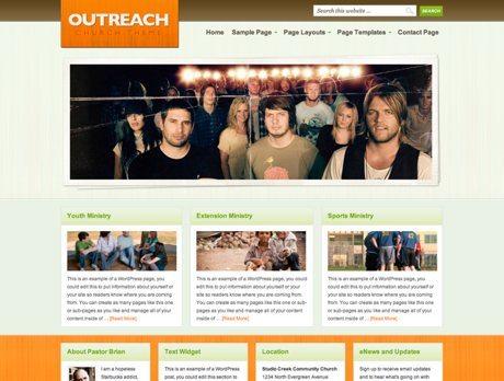 Outreach ~ Genesis WordPress sablon