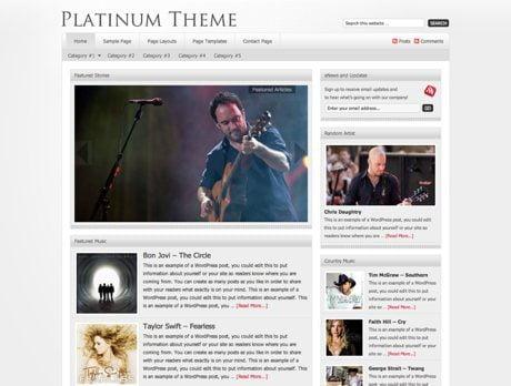 Platinum ~ Genesis WordPress sablon