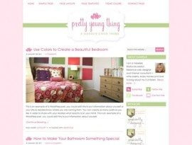 Pretty Young Thing Pink ~ Genesis WordPress sablon
