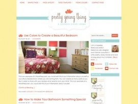 Pretty Young Thing Yellow ~ Genesis WordPress sablon