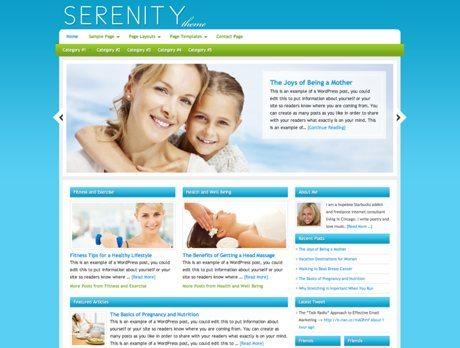 Serenity ~ Genesis WordPress sablon